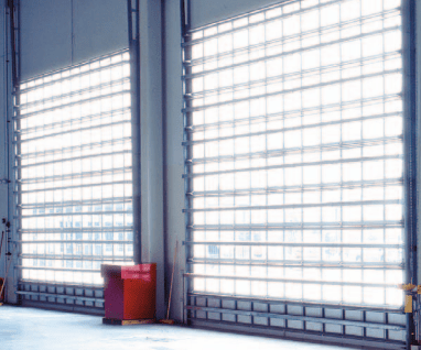Alluminum Full view Commercial door