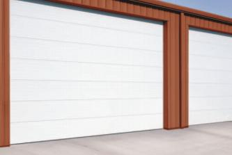 Denver Colorado commercial steel garage door