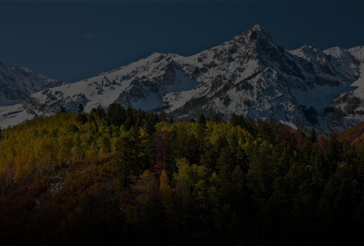 Mountains Background Colorado Overhead Door Company