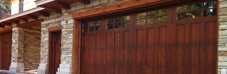 Custom Wood Door in Denver Colorado
