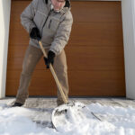Protecting garage doors from road salts