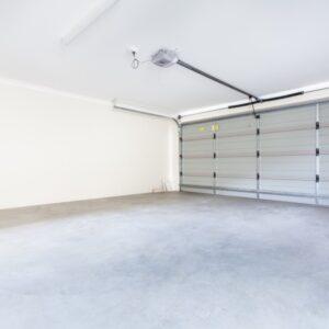 clean concrete garage floor