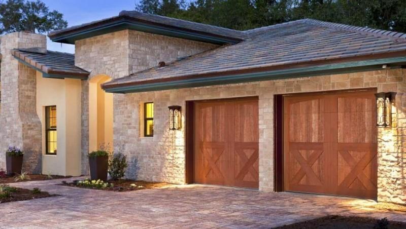 Custom wood garage doors Denver