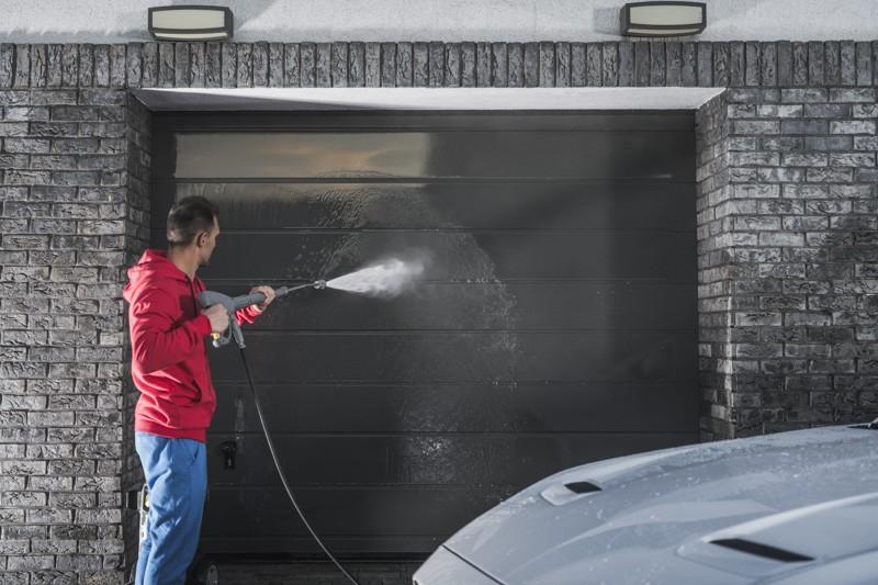 Washing Your Garage Door
