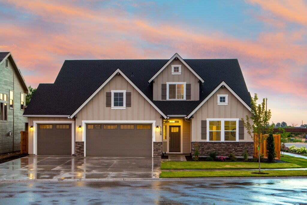 Boost curb appeal by adding garage door windows.