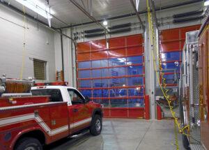 Fire station garage doors