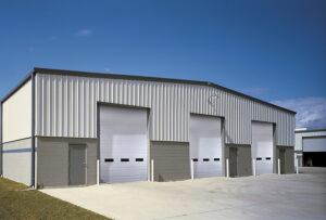 Insulated Commercial Garage Door