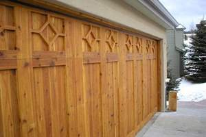 Wooden Garage Door Spring & Repair