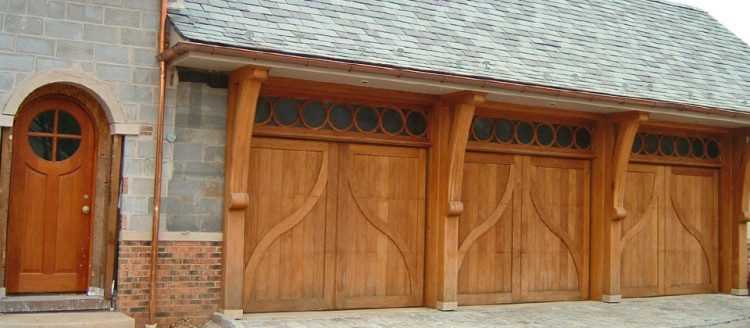 Custom Wooden Garage Door Denver Colorado