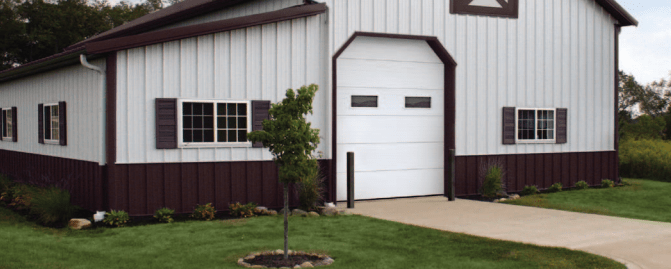 Sectional Steel Doors in Denver
