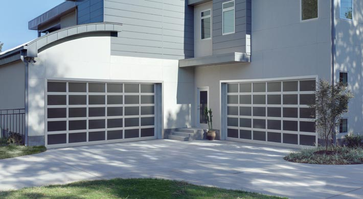 trendy garage doors Denver