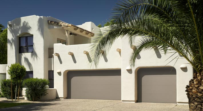 Steel Flush Panel garage door