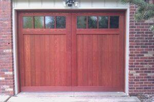 The Cherry Hills Custom Wood Door