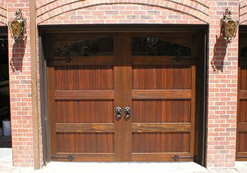 Custom Wood Door Garage Denver