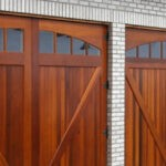 I have always wanted a Wooden Garage Door…