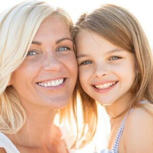 Mother and daughter Stock Images with paid rights
