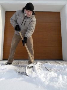 Winter Damage on Your Garage Door