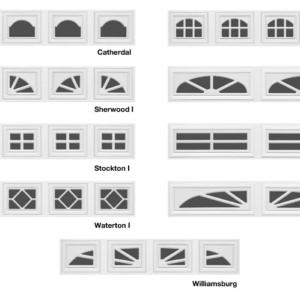 Styles of Garage Door Windows