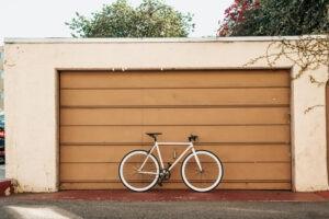 Repairing your garage door springs.