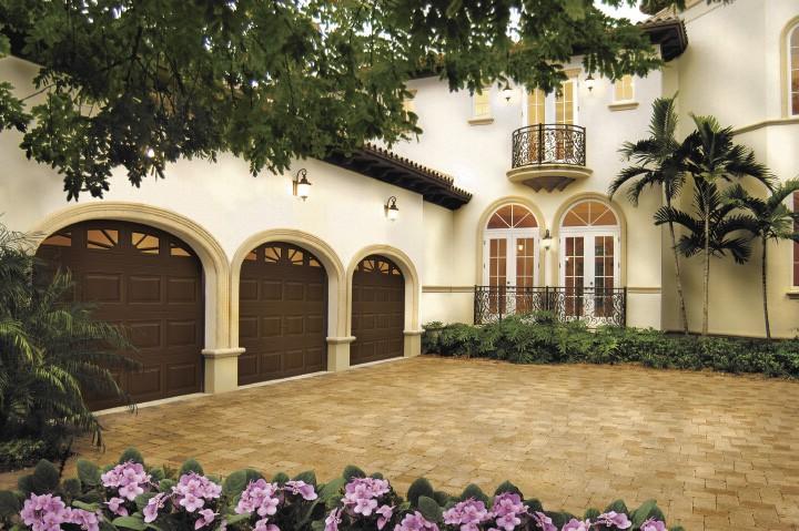 triple garage doors