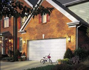 white residential door